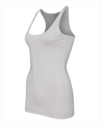 Bella-Canvas B8430 Womens Racerback Tank - White Fleck Triblend Extra Large