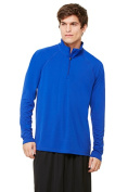 Alo M3006 Sport Mens 0.25 Zip Lightweight Pullover - Sport Royal Small