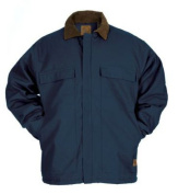 Berne Apparel CH416NVT480 48/X-Large Original Chore Coat - Quilt Lined Tall - Navy