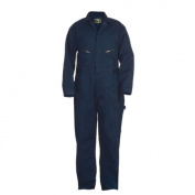 Berne Apparel C230NVS540 54x30 Short Deluxe Unlined Coverall - All Cotton - Navy