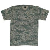 Fox Outdoor 64-172 M Mens Short Sleeve T-Shirt - Abu Camo Medium