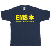 Fox Outdoor 64-627 M EMS Two-Sided Imprinted T-Shirt Navy - Medium