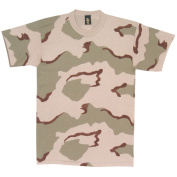 Fox Outdoor 64-125 L Short Sleeve T-Shirt - 3 Colour Desert Camo Large