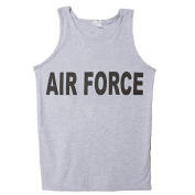 Fox Outdoor 64-701 L Mens Tank Top Grey Air Force - Large