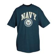 Fox Outdoor 63-93 XL Navy Imprint T-Shirt - Navy Blue Extra Large