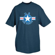 Fox Outdoor 64-435 XXXL United States Air Force Star T-Shirt Navy - 3 Extra Large
