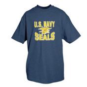 Fox Outdoor 64-45 XXL US Navy Seals T-Shirt Navy Blue - 2 Extra Large