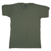 Fox Outdoor 64-10OD3 OD XXXL Mens Short Sleeve T-Shirt - Olive Drab 3 Extra Large