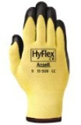 R3 Safety 827666 Hyflex Glove Kevlar Foam Nitrile -Pack of 3
