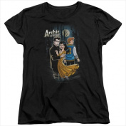 Archie Comics-Cover No. 146 - Short Sleeve Womens Tee Tee Black - Large