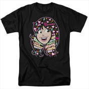Archie Comics-Inside Vs Head - Short Sleeve Adult 18-1 Tee Black - 3X