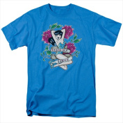 Archie Comics-Veronica Tattoo - Short Sleeve Adult 18-1 Tee Turquoise - 3X