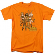 Archie Comics-Tiger Stripes - Short Sleeve Adult 18-1 Tee Orange - Extra Large