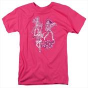 Archie Comics-Its Pussycat Time - Short Sleeve Adult 18-1 Tee Hot Pink - Medium
