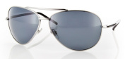 Carve 1031 Top Dog Sunglass - Silver Polarised