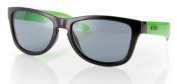 Carve 1843 One Step Beyond Sunglass - Black/Green Polarised