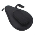 Moonmini Waterproof Table Tennis Racket Ping Pong Paddle Bat Bag Pouch Cover with Ball Case Brand New