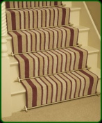 Stair Rods ~ Brass - Easy Rods to fit - Good Quality Hollow Stair Carpet Runner Bars Affordable Cheap and New