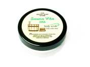 Sauna Vita Spa - salt scrub (50 ml) with lime and peppermint! For sauna use! 2 pcs. economy pack!