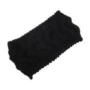 Hualing women's warm knit wool hair band