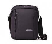 Kingsons Mens Black 'Elite' Tablet Shoulder Bag