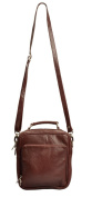 VILENCA HOLLAND 40456 Mid Brown Shoulder Bags Men L28cmXH33cmXB9cm