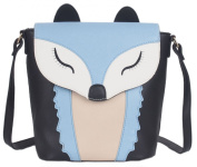Kukubird (Key West) Chic Faux Leather Fox Design Backpack Handbag