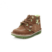 Kickers Yoda Lightsaber Sued Im, Boys' Ankle Boots