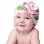 Tonsee® Cute Big Flower Baby Kids Infant Toddler Girl Warm Beanie Knit Hat Cap