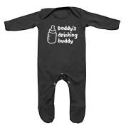 Daddy's Drinking Buddy Baby Romper Sleep Suit