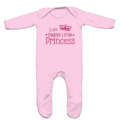 I Am Daddys Little Princess Baby Romper Sleep Suit