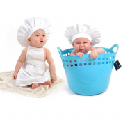 Vovotrade® Newborn Cute Baby White Cook Costume Photos Photography Prop