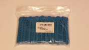 OrthoExtent Orthodontic Ligature Ties, Cyan/Teal, 1040 Ties per Bag