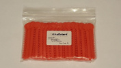 OrthoExtent Orthodontic Ligature Ties, Autumn Orange, 1040 Ties per Bag