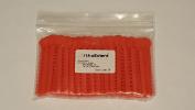 OrthoExtent Orthodontic Ligature Ties, Autumn Orange, 1040 Ties per Bag