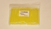 OrthoExtent Orthodontic Ligature Ties, Crystal Yellow, 1040 Ties per Bag