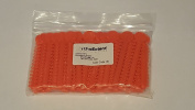 OrthoExtent Orthodontic Ligature Ties, Orange, 1040 Ties per Bag