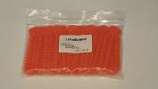 OrthoExtent Orthodontic Ligature Ties, Orange, 1040 Ties per Bag
