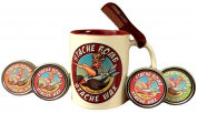 Stache Bomb Stache Wax- Moustache Wax Gift Set