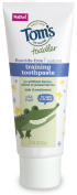 Tom's of Maine Toddlers Fluoride-Free Natural Toothpaste in Gel, Mild Fruit, 50ml, 3 Count