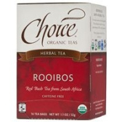 Choice Organic Teas Rooibos Red Bush Tea, 16 BAGS