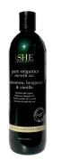 Om She Aromatherapy Palmarosa, Bergamot & Vanilla Pure Organics Shower Gel 500ml