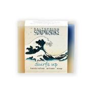 Saltspring Soapworks All Natural Artisan Soap Bar, Surf's Up, 120ml
