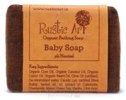 Rustic Art Organic Baby Soap 100 Grammes