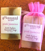 Soap - Wine Bar Soap Pink Jasmine By the Grapeseed Co