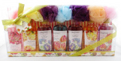 Healing Waters Shower Gel Collection - 7 Bottle Gift Set - 120ml Each Bottle