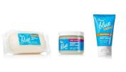 Bath & Body Works - True Blue Spa - 3 Pc Bundle- Creamy Cleansing Bar, Need A Margarita Citrus Body Scrub & Mini Super Rich Body Cream