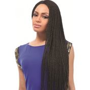 New Amour Hair Collection Natty Small Box Braids 100% Kanekalon 60cm Colour #1B