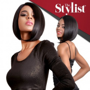 The Stylist Synthetic Lace Front Wig Hand-Tied Curved Part Perfect Bob