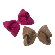 Bows for Belles Large Burlap Bow Set